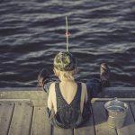 魚のいない池で釣りは出来ない